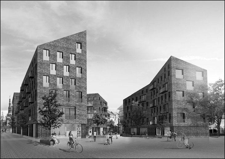 PFA bygger hotel og seniorvenlige boliger på Markedspladsen i Hillerød